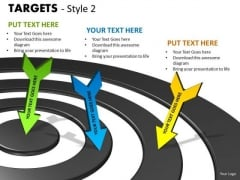 Marketing Diagram Targets Style 2 Consulting Diagram