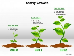 Marketing Diagram Yearly Growth Business Framework Model