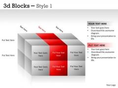 Mba Models And Frameworks 3d Blocks Style Strategic Management