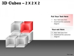 Mba Models And Frameworks 3d Cubes 2x2x2 Strategic Management