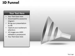 Mba Models And Frameworks 3d Funnel Diagram For Process Flow Sales Diagram