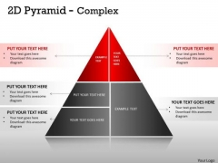 Mba Models And Frameworks 5 Staged Pyramid Design For Sales Business Diagram