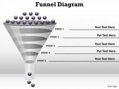 Mba Models And Frameworks 5 Steps Of Process Flow Funnel Diagram Business Diagram