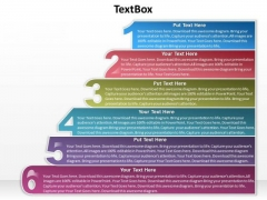 Mba Models And Frameworks 6 Textboxes For Business Process Business Diagram