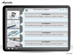 Mba Models And Frameworks Agenda Marketing Diagram