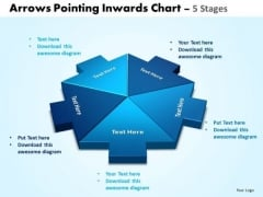 Mba Models And Frameworks Arrows Pointing Inwards Chart 5 Stages 5 Strategic Management
