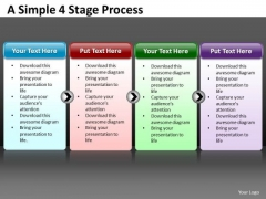 Mba Models And Frameworks Business Simple 4 Strategy Diagram