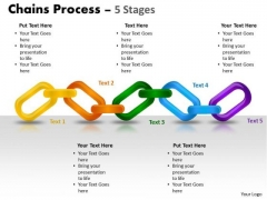 Mba Models And Frameworks Chains Process 5 Stages Marketing Diagram