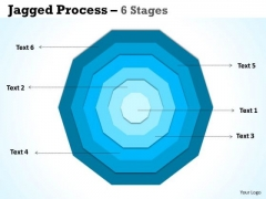 Mba Models And Frameworks Concentric Proces 6 Stages Marketing Diagram