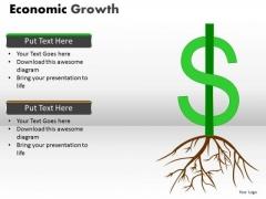 Mba Models And Frameworks Economic Growth Marketing Diagram