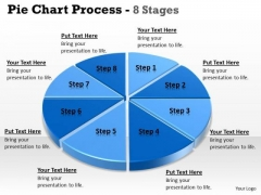 Mba Models And Frameworks Eight Stages Of Pie Chart Data Interpretation 8 Stages Consulting Diagram