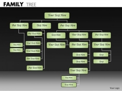 Mba Models And Frameworks Family Tree Consulting Diagram