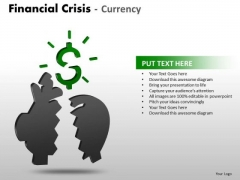 Mba Models And Frameworks Financial Crisis Currency Consulting Diagram