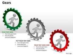 Mba Models And Frameworks Gears Business Cycle Diagram
