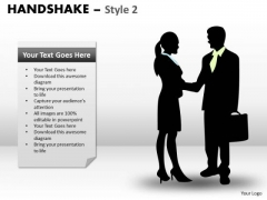 Mba Models And Frameworks Handshake Style 2 Business Cycle Diagram