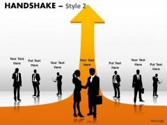 Mba Models And Frameworks Handshake Style 2 Marketing Diagram