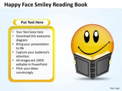 Mba Models And Frameworks Happy Face Smiley Reading Book Sales Diagram