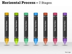 Mba Models And Frameworks Horizontal Process 7 Step Strategy Diagram