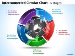 Mba Models And Frameworks Interconnected Circular Diagram Chart Marketing Diagram