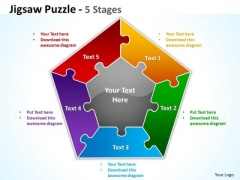 Mba Models And Frameworks Jigsaw Puzzle Diagram Business Diagram
