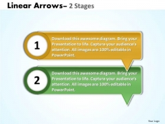 Mba Models And Frameworks Linear Arrows 2 Stages