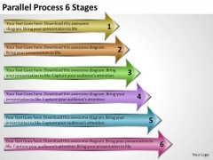 Mba Models And Frameworks Parallel Process 6 Stages Strategic Management