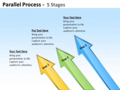 Mba Models And Frameworks Parallel Process Strategy Diagram