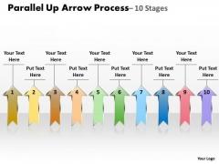 Mba Models And Frameworks Parallel Up Arrow Process Business Framework Model