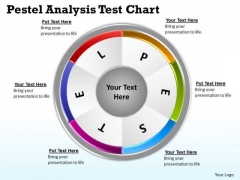 Mba Models And Frameworks Pestel Analysis Test Chart Business Diagram