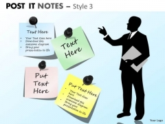 Mba Models And Frameworks Post It Notes Style 3 Strategic Management