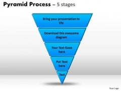 Mba Models And Frameworks Reverse Triangle Design For Business Process Consulting Diagram