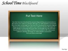 Mba Models And Frameworks School Time Blackboard Strategy Diagram