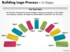 Mba Models And Frameworks Semi Building Blocks 11 Stages Consulting Diagram
