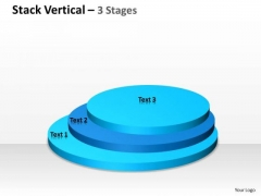 Mba Models And Frameworks Stack Process Diagram Vertical 3 Stages Consulting Diagram