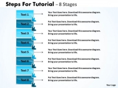 Mba Models And Frameworks Steps For Tutorial 8 Stages Strategy Diagram