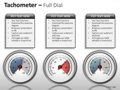 Mba Models And Frameworks Tachometer Full Dial Strategy Diagram