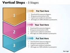 Mba Models And Frameworks Vertical Diagrame Steps Business Cycle Diagram