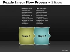 Puzzle Linear Flow Process 2 Stages