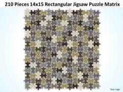 Sales Diagram 210 Pieces 14x15 Rectangular Jigsaw Puzzle Matrix Consulting Diagram