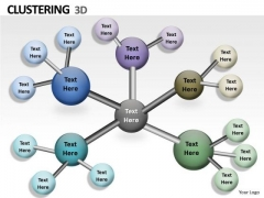 Sales Diagram 3d Clustering Ppt Graphics Business Finance Strategy Development