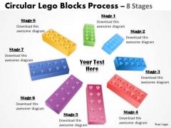 Sales Diagram Building Lego Process 8 Stages Business Framework Model