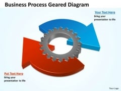 Sales Diagram Business Circular Process Geared Diagram Sales Marketing Diagram