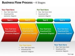 Sales Diagram Business Flow Process 4 Stages Mba Models And Frameworks
