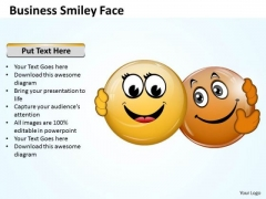 Sales Diagram Business Smiley Face Strategy Diagram