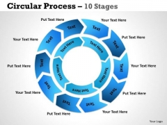Sales Diagram Circular Process 10 Stages 3 Marketing Diagram