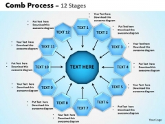 Sales Diagram Comb Process 12 Stages Mba Models And Frameworks