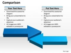 Sales Diagram Comparison Marketing Diagram