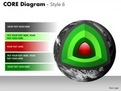 Sales Diagram Core Diagram Diagonal Cut Marketing Diagram