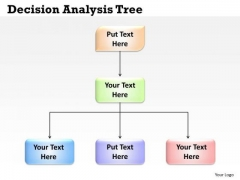 Sales Diagram Decision Analysis Tree Business Finance Strategy Development