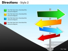 Sales Diagram Directions Style 2 Marketing Diagram
